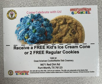 Cookies or Ice Cream?