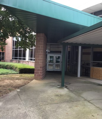 New Cafeteria Entrance