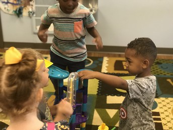 Favorite toy:  our marble run is loved by every single kiddo!
