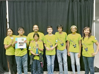 oss ftc Team Magic places at ftc tesla league meet #3