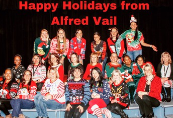 Happy Holidays from Alfred Vail
