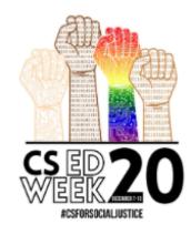 Use #CSforSocialJustice