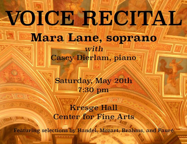 Voice Recital