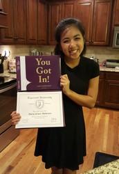 Congratulations, Mary Grace Mancuso!