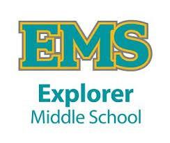 Explorer Middle School Logo