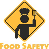 A instructional flyer on how to keep food safe.