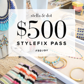 CONGRATS!  You have a $500 Style Fix Coupon!!!  You sold over $2000 this quarter !!