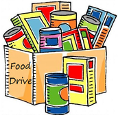 CANNED FOOD DRIVE DEC. 5th-15th!!!