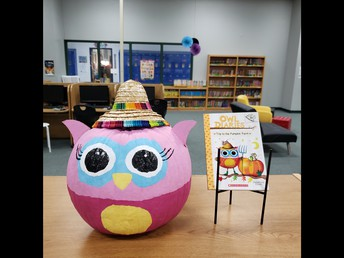 1st Storybook Pumpkin Entry received