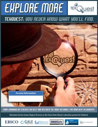image of TexQuest flyer