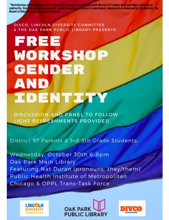Gender and Identity Workshop