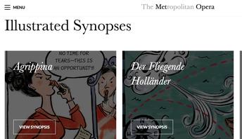 Met Opera Synopses