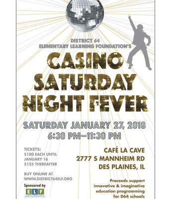 2018 Casino Night Flyer
