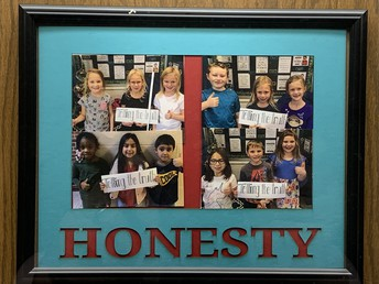 Students Recognized for Demonstrating Honesty