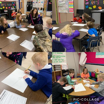 3rd Grade Literacy using Close Reads and Reciprocal Placemats