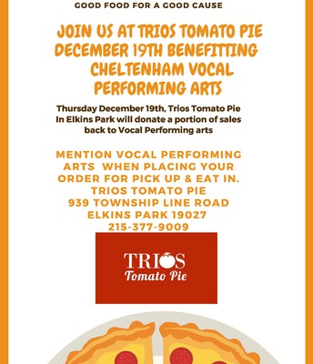 Vocal Performing Arts Fundraiser @ Trios