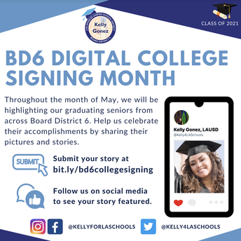 Digital College Signing Month