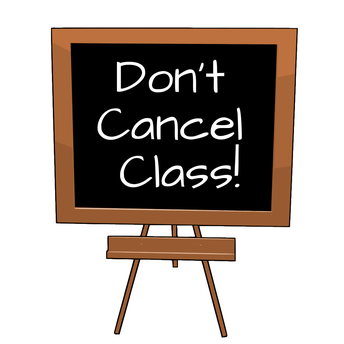 DON'T CANCEL CLASS! LET THE CAREER CENTER FILL IN FOR YOU!