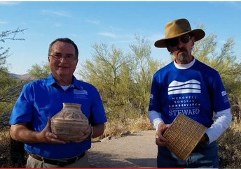 Franco and Len, McDowell Sonoran Conservancy Stewards