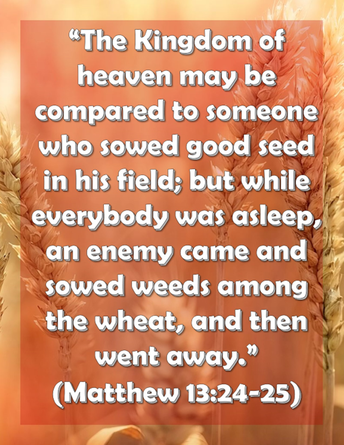 Sunday's Scriptures
