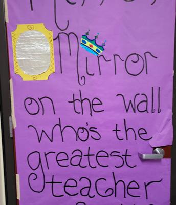Mrs. Cohee's door