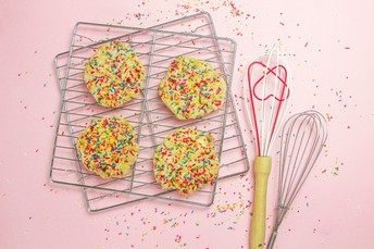 Confetti Cookies - Thank you!