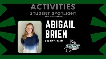 STUDENT SPOTLIGHT: Abigail Brien