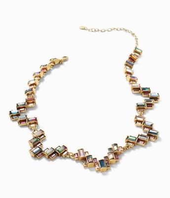 Hatley Baguette Necklace multi