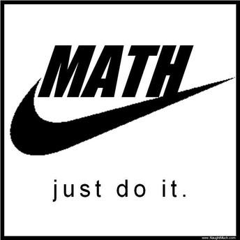 math just do it logo