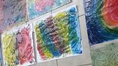 תוצרים מהשתלמות צוות נופי ארבל - שילוב ההוראה באומנות- מרצה - רענן גדרון