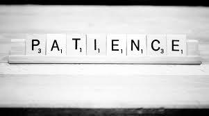 November  Life skill- Patience
