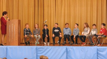 The Tradition Continues, Booth Free School's 44th Annual Spelling Bee and Pie Feast