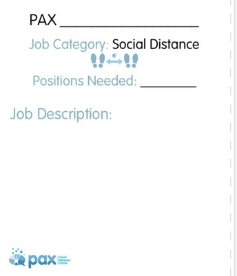 Create Your Own PAX Jobs