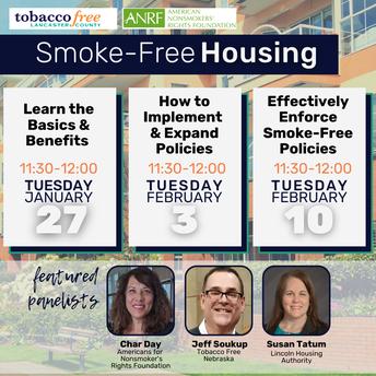 Smoke-free Multiunit Housing Webinar