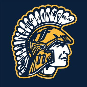 Fargo North Spartan Head logo
