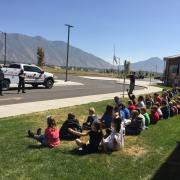 2nd Grade Learns about fire safety