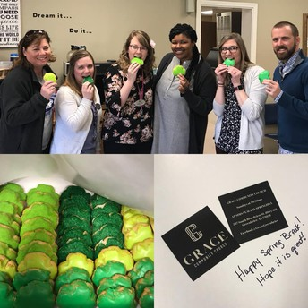 Thank you Grace Community Church for our sweet treat!