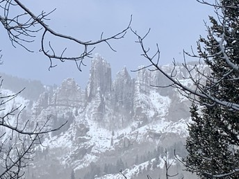 Snowstorm In The Castles by Mr Stucki