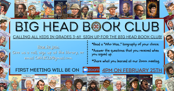 Big Head Book Club