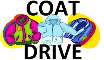 Coat Drive Every Tuesday 1 p.m.-3 p.m