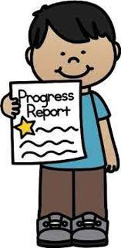 Progress Reports - September 29th