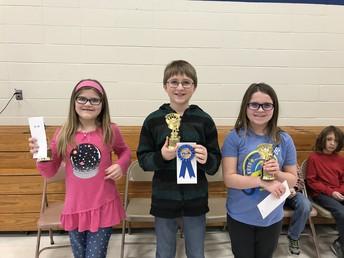 Whittier Spelling Bee Winners