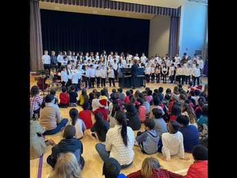 Thank you to our 4th and 5th Grades for a wonderful Winter Concert!