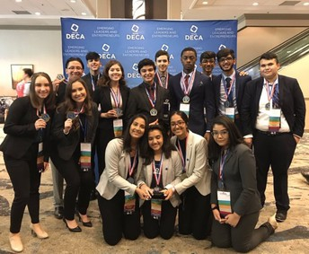Congrats to all 16 of our State DECA medalists!  10 of our Tigers are headed to NATIONALS!