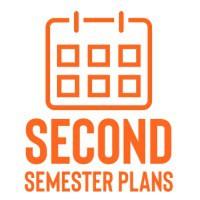 second semester plans icon