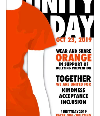 Unity Day - United Against Bullying - October 23rd