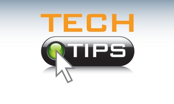 This week's Tech Tip