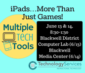 iPads…More Than Just Games!