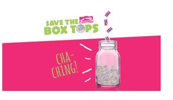 Box Tops Summer Reminder!