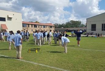 Fall Weather = Lunchtime Competition!